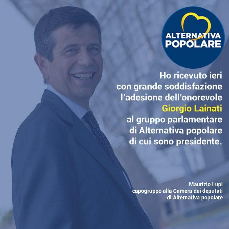 Giorgio Lainati aderisce al gruppo di Alternativa popolare