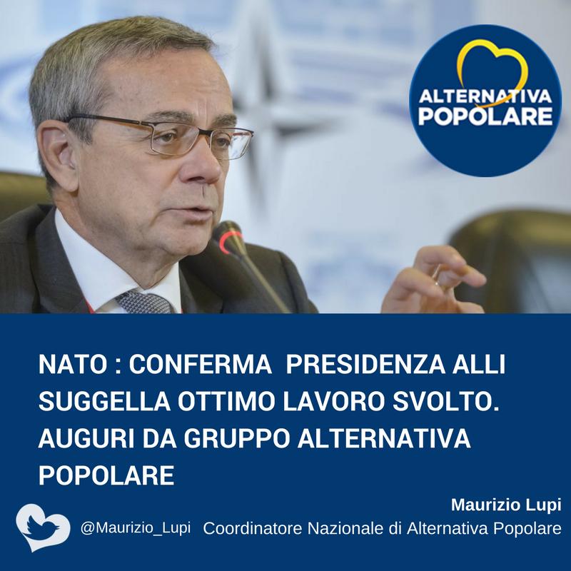 Congratulazione a Paolo Alli, rieletto Presidente dell