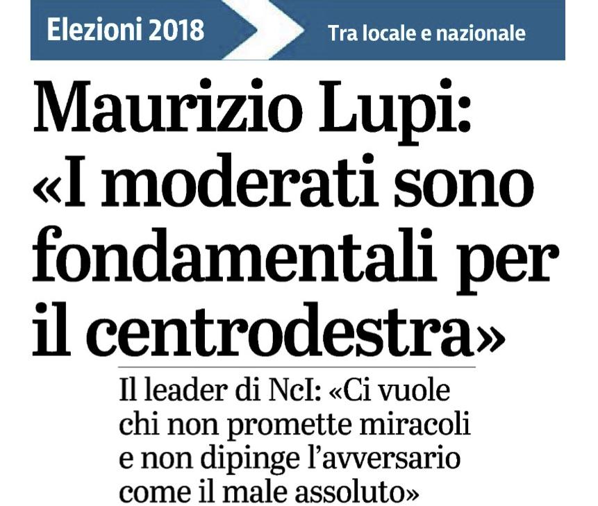 Intervista-Lupi-giornale-Brescia - 19/02/2018
