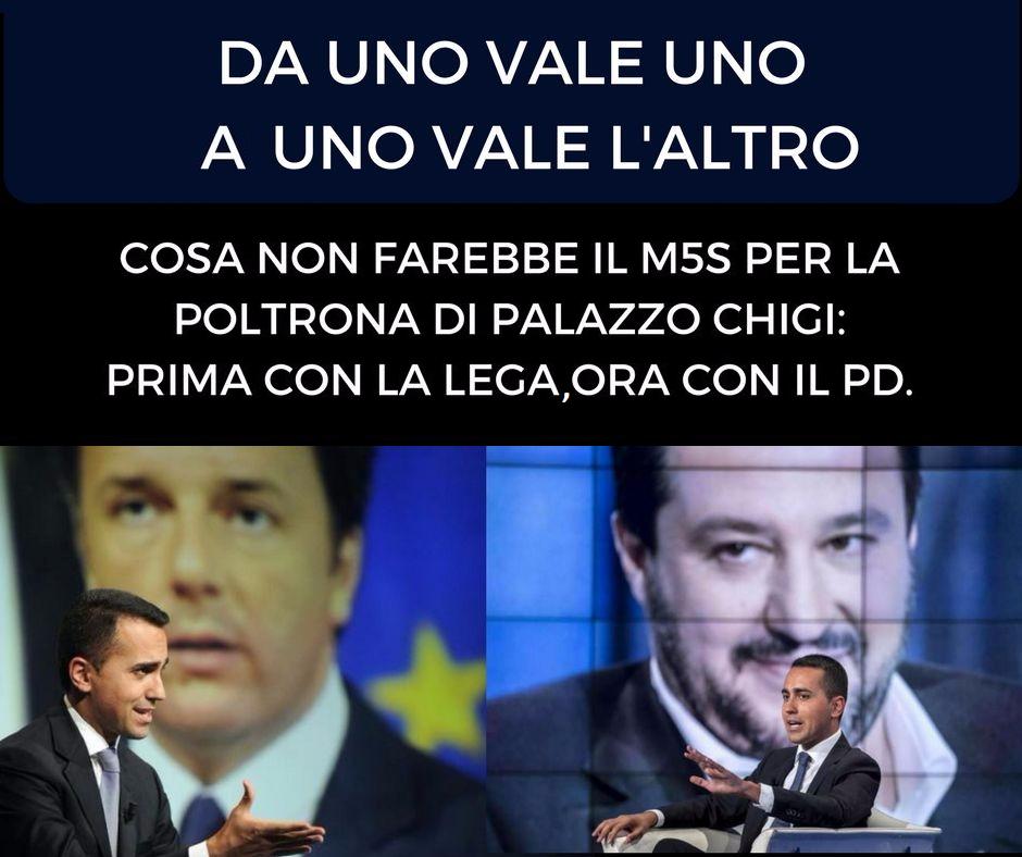 Gli elettori italiani di fronte al cosiddetto dialogo fra 5 stelle e Pd giustamente si stropicceranno gli occhi chiedendosi se è vero quello che sta succedendo.