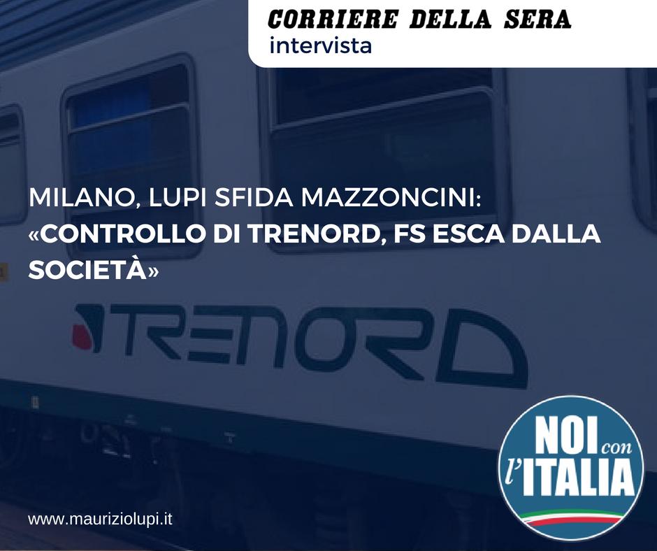 Milano, Lupi sfida Mazzoncini: «Controllo di Trenord, Fs esca dalla società»