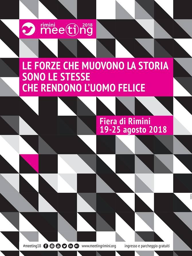 """39^ Meeting Rimini: """"Le forze che cambiano la storia sono le stesse che rendono l'uomo felice""""."""