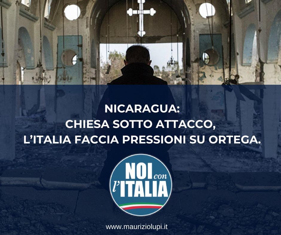 Nicaragua: Chiesa sotto attacco, l'Italia faccia pressioni su Ortega.