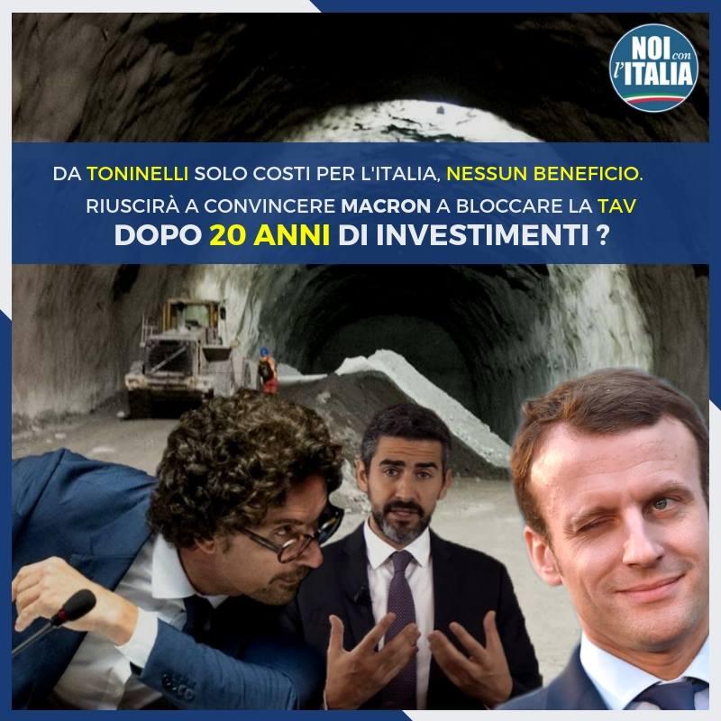 DaToninellisolo costi per l'Italia, nessun beneficio.