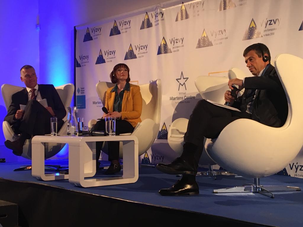 """""""European Union: Challenges 2018 Christian Democratic dialogues"""": il mio discorso sulla Sussidiarietà"""