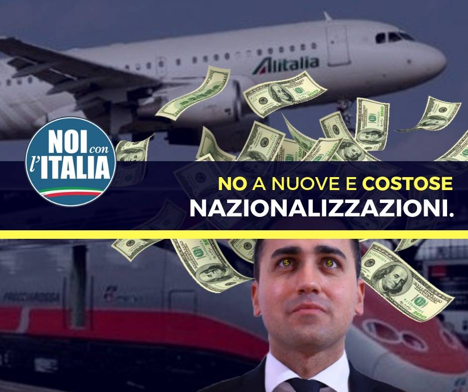 Alitalia: No a nuove e costose nazionalizzazioni.
