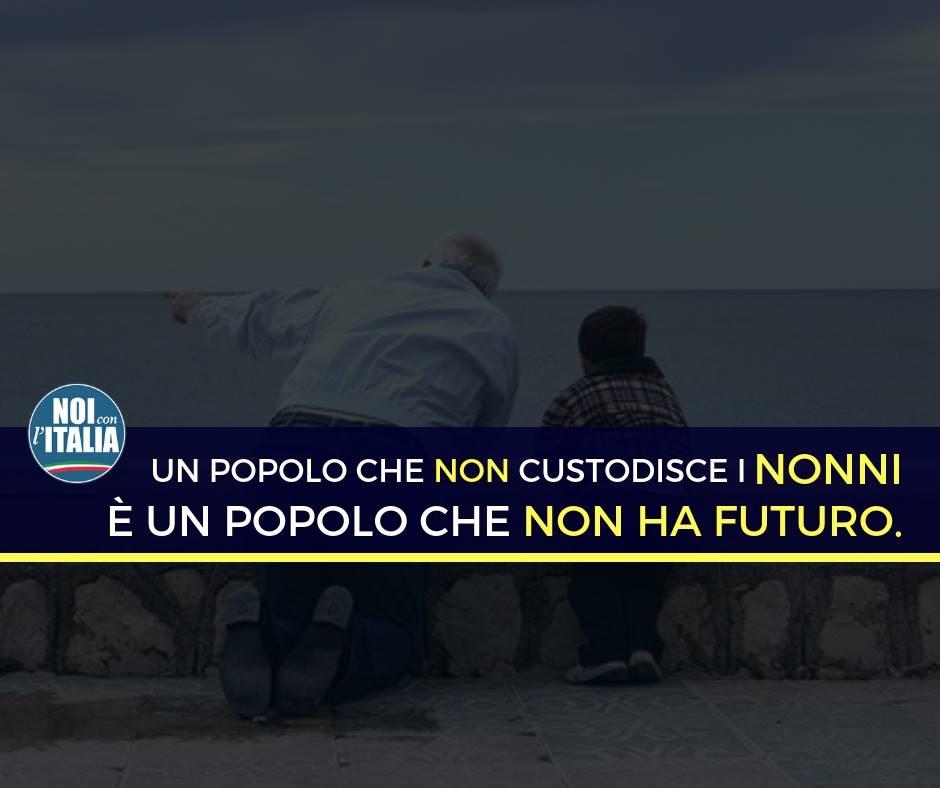 Oggi è la Festa dei Nonni. Credo non ci sia migliore augurio delle parole di Papa Francesco: ''I nonni hanno la saggezza della vita.''