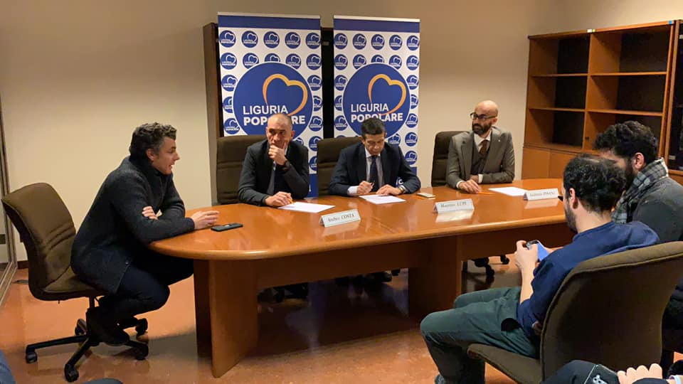Elezioni: Liguria Popolare sosterrà il modello Toti