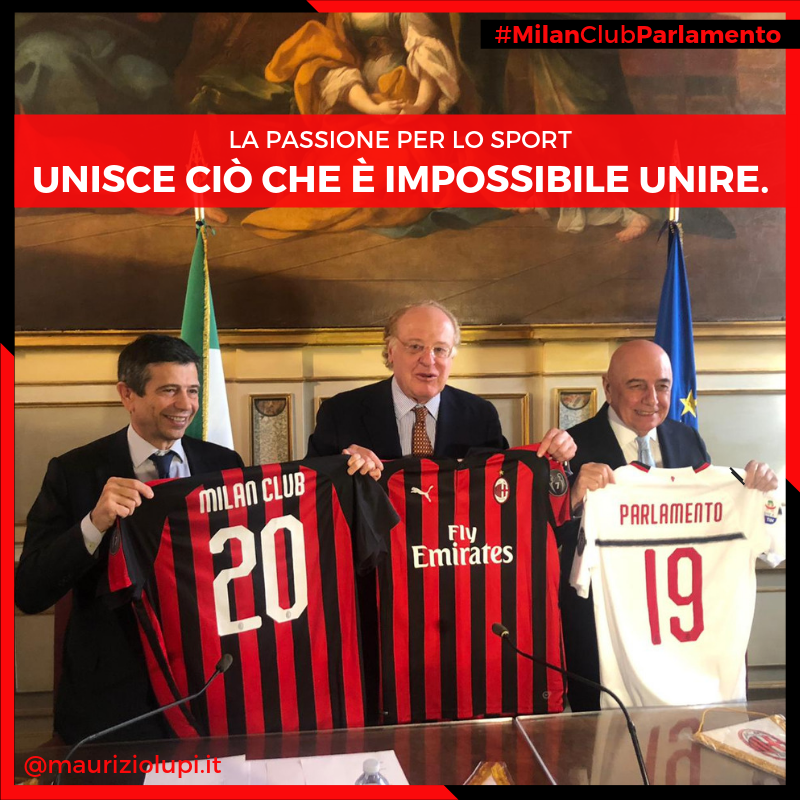 Nasce il Milan Club Parlamento