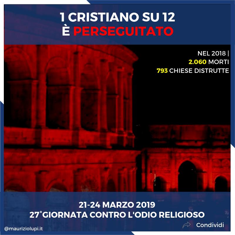 """Dal 21 al 24 marzo si celebra in vari posti d'Italia la 27° Giornata di preghiera e digiuno in memoria deimissionariuccisi """"in odio alla fede""""."""