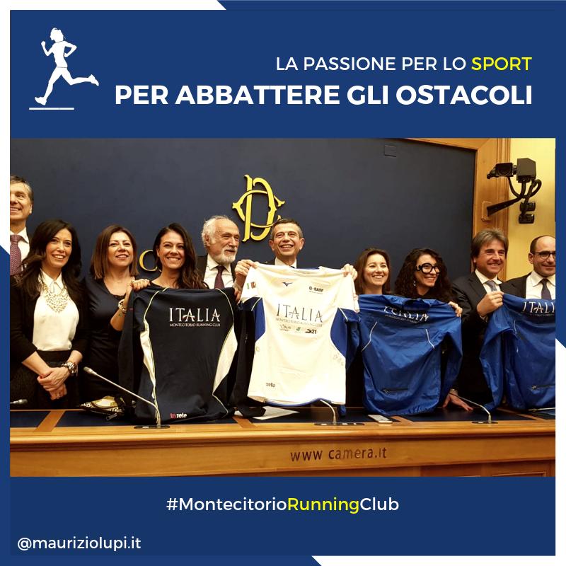Montecitorio Running Club– Correre per abbattere gli ostacoli.