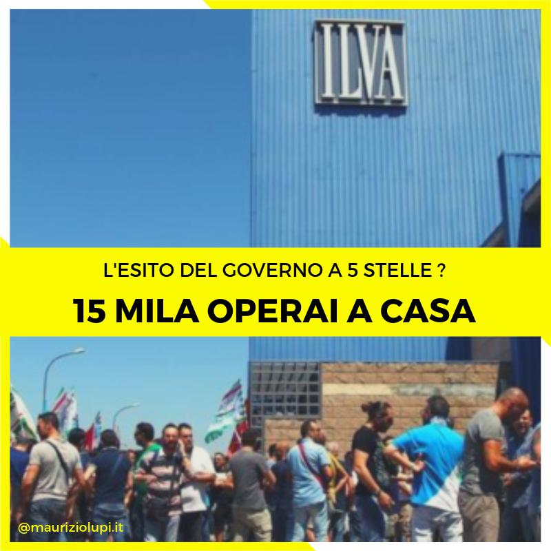Senza lo scudo penale l'Ilvadi#Tarantochiuderà a settembre: 15mila operai a casa