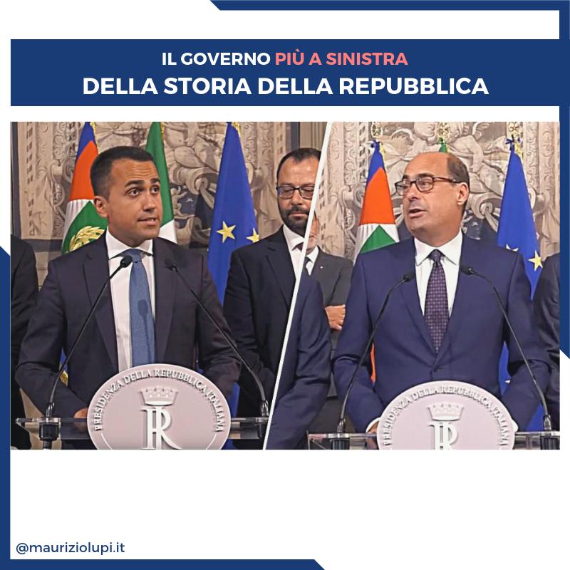 Governo Giallorosso: il più a sinistra della storia della Repubblica