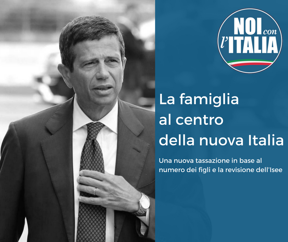 Maurizio Lupi: La Famiglia al Centro della nuova italia