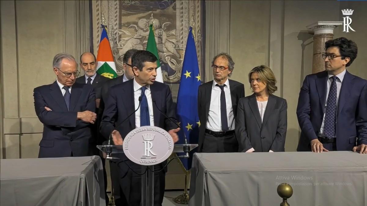 Noi con l italia durante la consultazione del gruppo for Gruppo misto camera